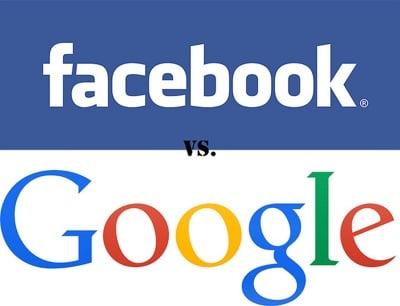 Facebook vrs. Google