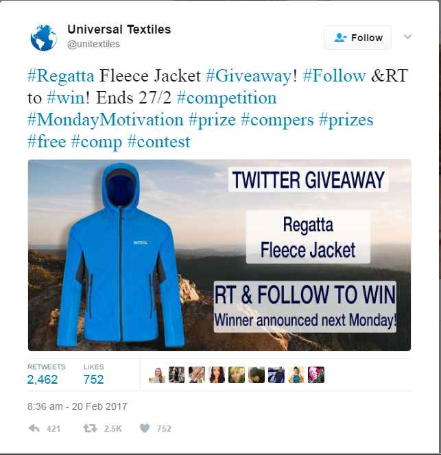 Twitter Contests