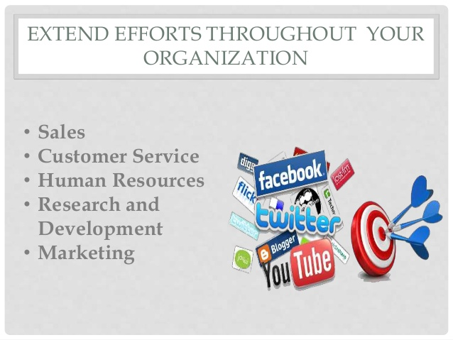 Extend Efforts Throughout Your Organization